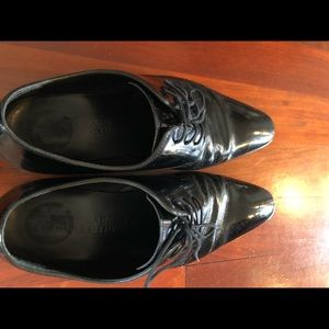 Men's Versace Collection Polished Derby Shoes